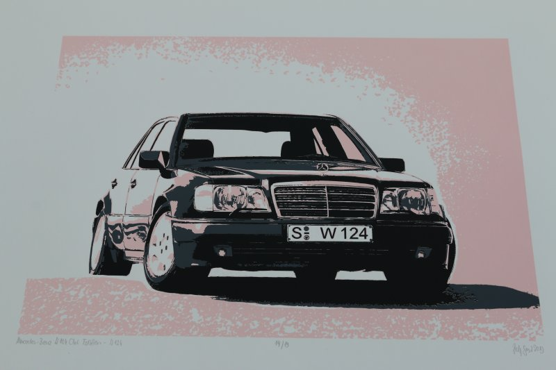 Kunstdrucke Limousine