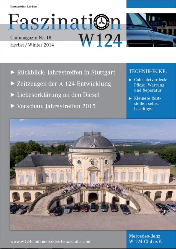 Clubheft Herbst/Winter 2014 (Nr. 18)