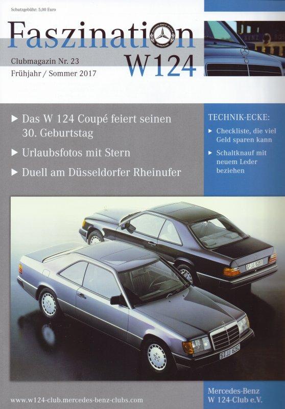 Clubheft Frühjahr/Sommer 2017 (Nr. 23)
