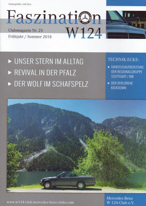 Clubheft Frühjahr/Sommer 2018 (Nr. 25)