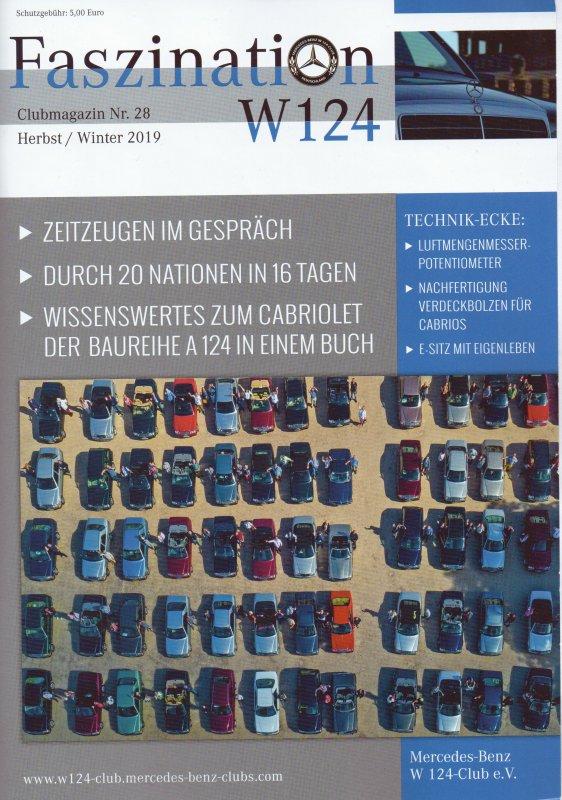 Clubheft Herbst/Winter 2019 (Nr. 28)