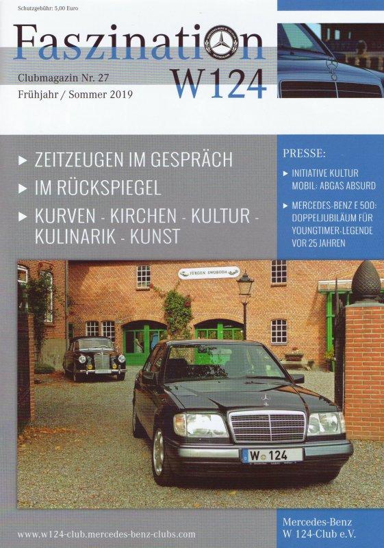 Clubheft Frühjahr/Sommer 2019 (Nr. 27)
