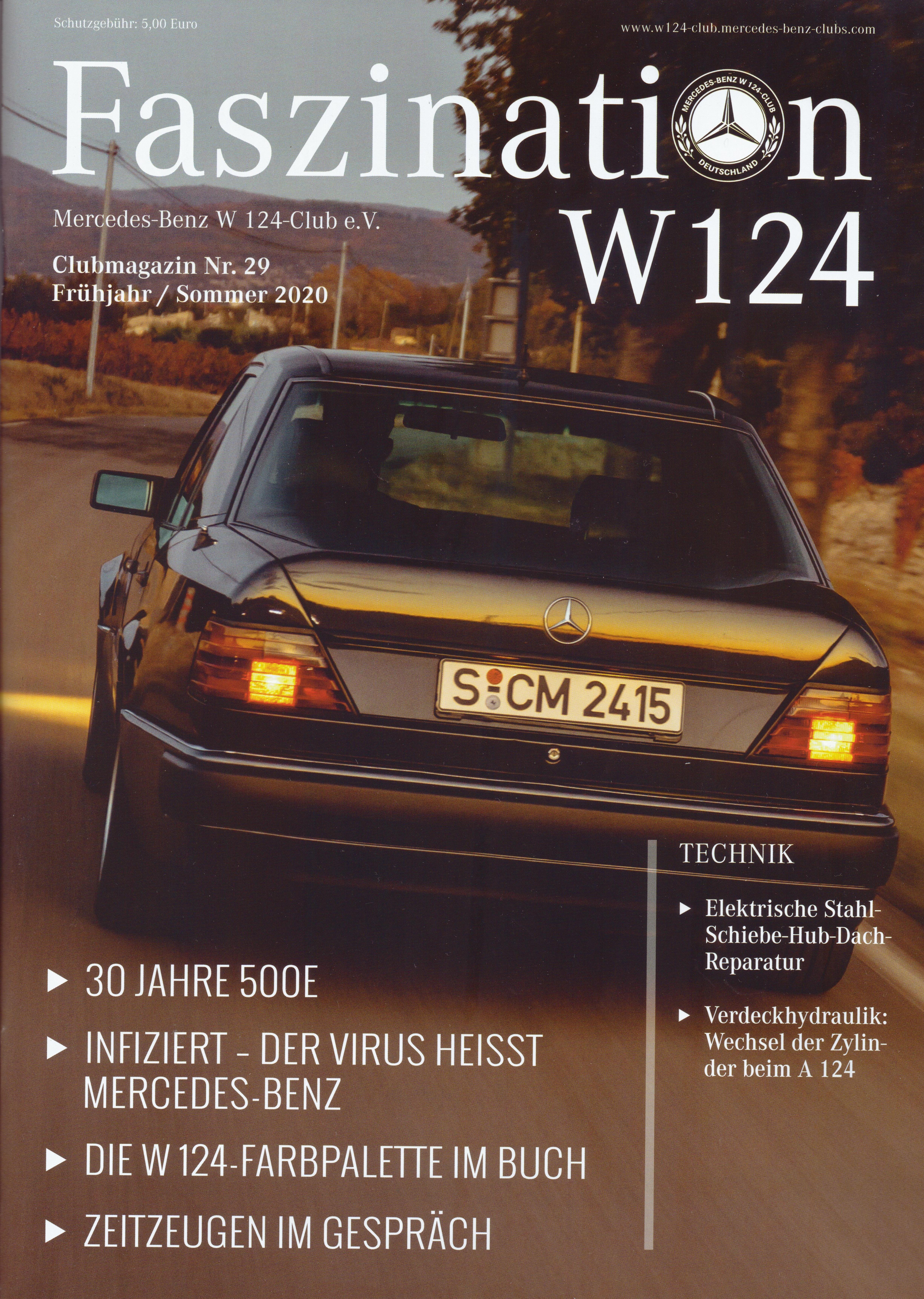 Clubheft 2020 (Nr. 29)